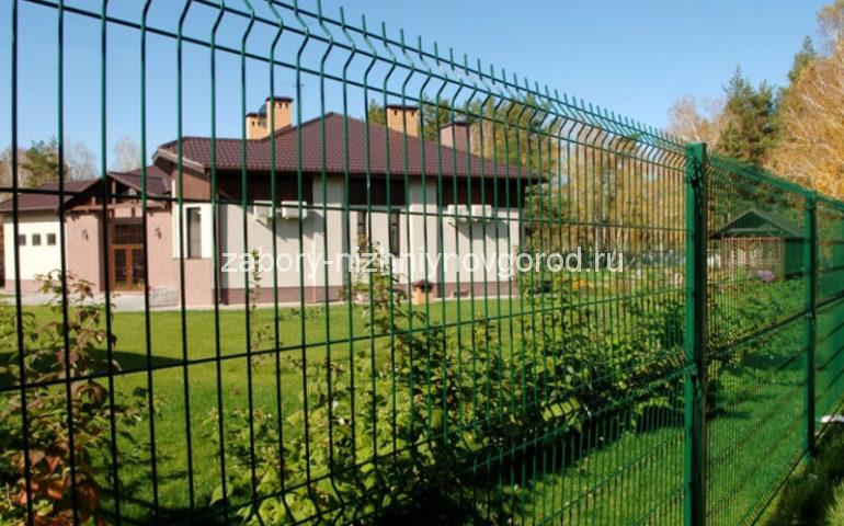 3д забор в Нижнем Новгороде