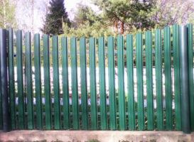 забор из евроштакетника под ключ стоимость