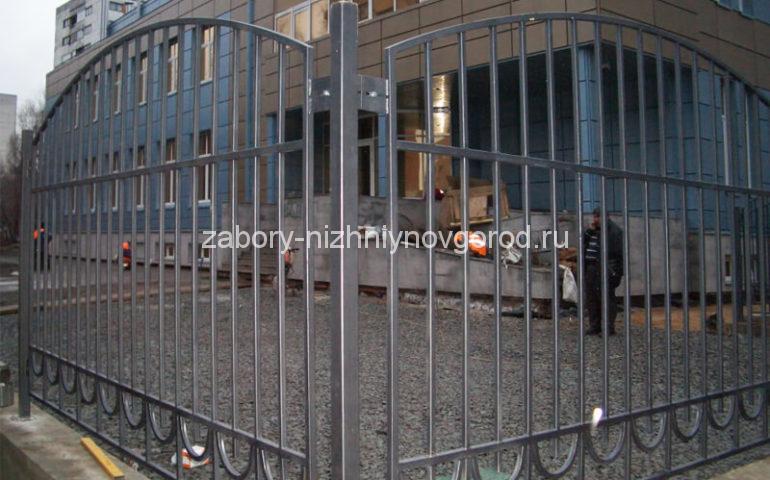 забор из профтрубы в Нижнем Новгороде